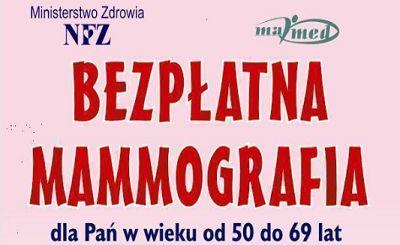 Bezpłatna mammografia w Łabuniach
