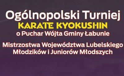 Zaproszenie na turniej karate