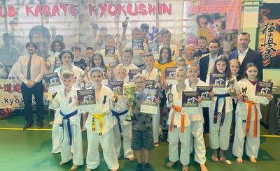 Turniej karate w Łabuńkach Pierwszych