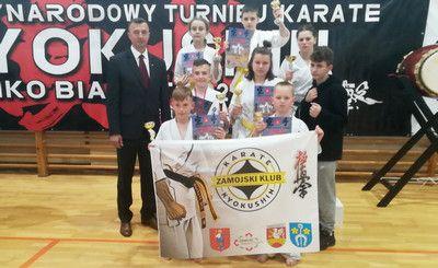 Międzynarodowy Turniej Karate Kyokushin w Białymstoku