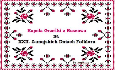 Kapela Grześki na Zamojskich Dniach Folkloru