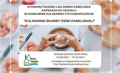 """Przypominamy: konkurs """"Kulinarne skarby Ziemi Zamojskiej"""""""